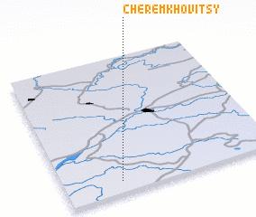 3d view of Cheremkhovitsy