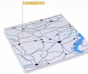 3d view of Sukharëvo