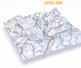 3d view of Güzelova
