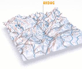 3d view of Akdağ