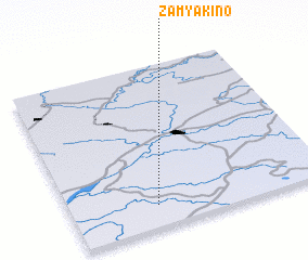 3d view of Zamyakino