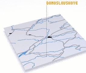 3d view of Domoslovskoye