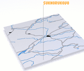3d view of Sukhorukovo