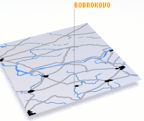 3d view of Bobrokovo