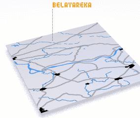 3d view of Belaya Reka