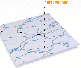 3d view of Dmitryukovo