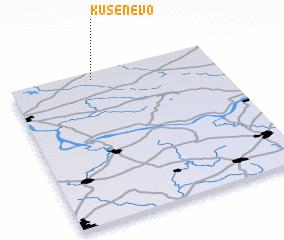 3d view of Kusenëvo