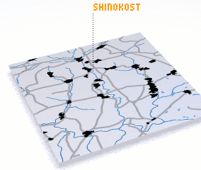 3d view of Shinokost\