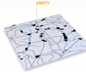 3d view of Vidnyy