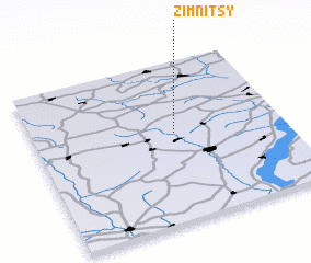3d view of Zimnitsy