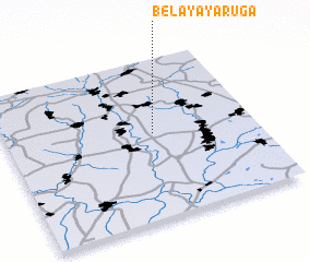 3d view of Belaya Yaruga