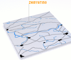 3d view of Zhiryatino