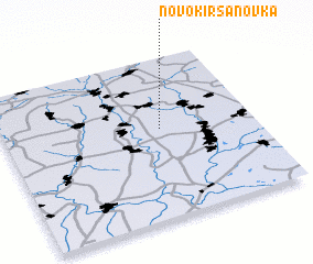 3d view of Novokirsanovka