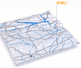 3d view of Oyalı