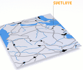 3d view of Svetloye