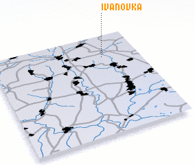 3d view of Ivanovka