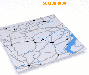 3d view of Selivanovo