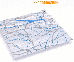 3d view of Kharāb Rashak