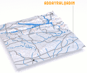 3d view of Ad Dayr al Qadīm
