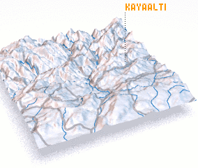 3d view of Kayaaltı