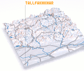 3d view of Tall Fakhkhār