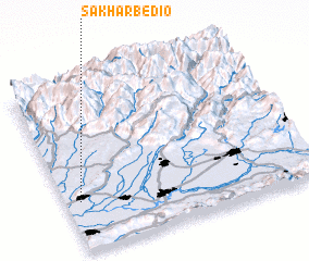 3d view of Sakharbedio