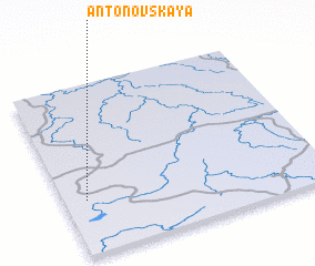 3d view of Antonovskaya