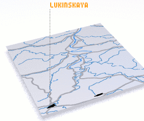 3d view of Lukinskaya