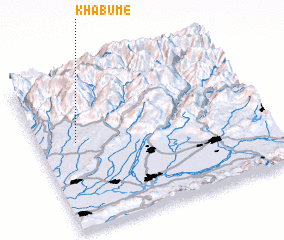 3d view of Khabume
