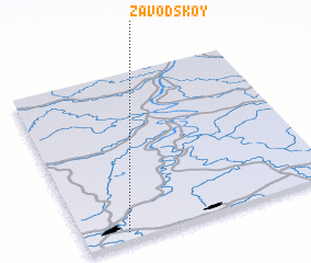 3d view of Zavodskoy