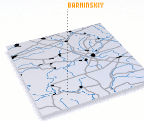 3d view of Barminskiy