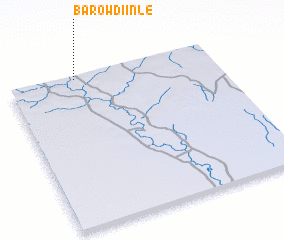 3d view of Barow Diinle