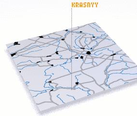 3d view of Krasnyy