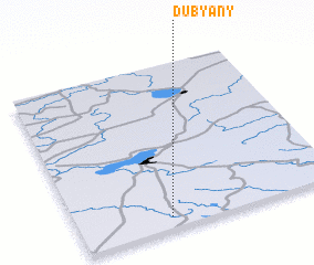 3d view of Dubyany