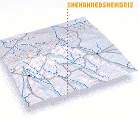 3d view of Shēh Āhmed Shēh Īdrīs
