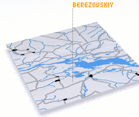 3d view of Berezovskiy