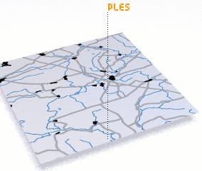 3d view of Plës