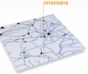 3d view of Zotovskaya