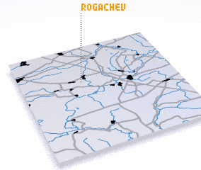 3d view of Rogachëv