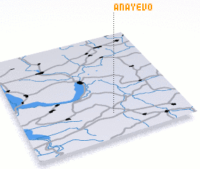 3d view of Anayevo