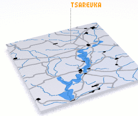 3d view of Tsarëvka