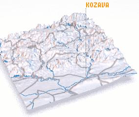 3d view of Kōzāvā