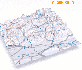 3d view of Chammīshko