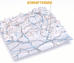 3d view of Ashkaft-ē Mārā