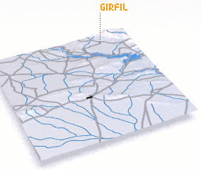 3d view of Girfīl