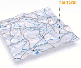 3d view of Baltacık