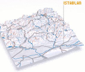 3d view of Istablān