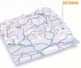 3d view of Ortabağ