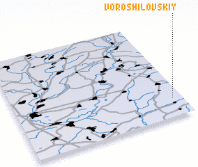 3d view of Voroshilovskiy