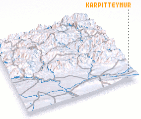 3d view of Karpit Teymūr